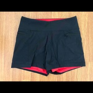 High Rise Mountain Hardwear Lined Shorts